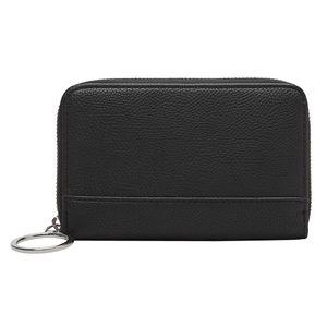 s.Oliver Zip Around Wallet Grey / Black