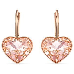 Swarovski Ohrringe 5515192 Bella Heart, rosa, Rosé vergoldet