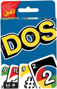 Mattel Games DOS Kartenspiel, Gesellschaftsspiel, Familienspiel, Kinderspiel