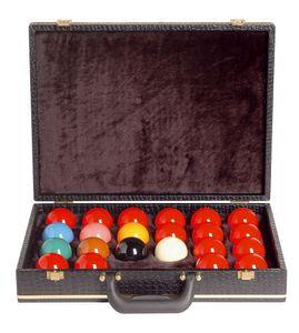 Koffer für Billardkugeln POOL, 16 Kugeln von Winsport