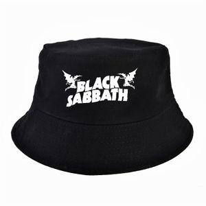 Mode Männer und Frauen Panama-Hüte Eimer Hut Sommer im Freien Hut Fischer -(Schwarz,)