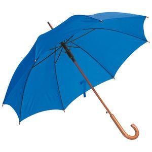 Automatik-Regenschirm / Farbe: blau