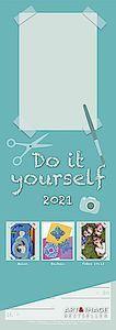 Do-it-Yourself Bastelkalender 2021 Streifenkalender