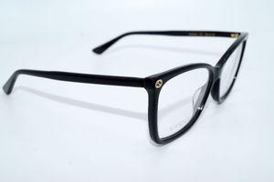 GUCCI Brillenfassung Brillengestell Eyeglasses Frame GG 0025 001