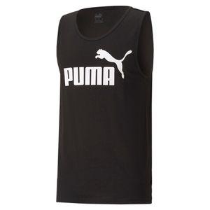 PUMA Herren ESS Essential Logo Tank SL Tee / T-Shirt Tanktop, Größe:L, Farbe:Schwarz (Puma Black)