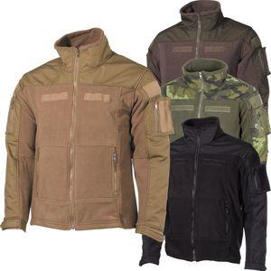 "Fleece-Jacke, ""Combat"", schwarz - XL"