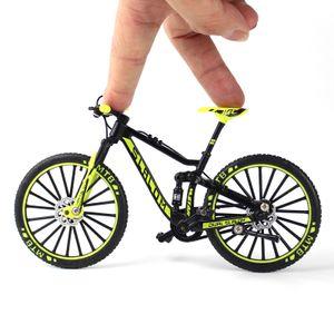 Mini Finger grüne Fahrräder Mini Extreme Sport Finger Fahrrad Zubehör Metall Spielzeug Kreative Geschenke