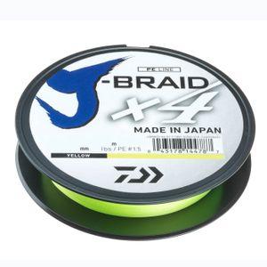 Daiwa J-Braid X4E 0,07mm-270m yellow gelb geflochtene Schnur Neuheit