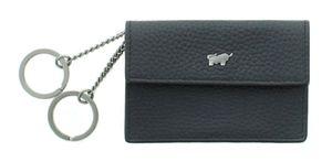 Braun Büffel Turin, Schlüsseletui Leder 60101S-648-010 Schwarz Schlüsseltasche