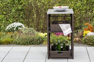MERXX Pflanztisch Garten Sideboard,Regal 50x46x91 cm