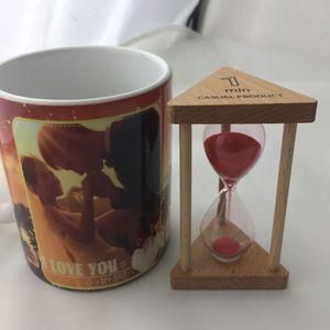 1/3/5/10 Minuten 30/90 Sekunden Sandglass Hourglass Timer Uhr Home Decor 9x5x5cm 30 Sekunden Rot wie beschrieben Sanduhr / Sanduhr