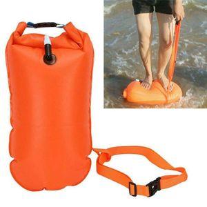 Schwimmboje aufblasbar Trockentasche wasserdicht Rettungsboje-