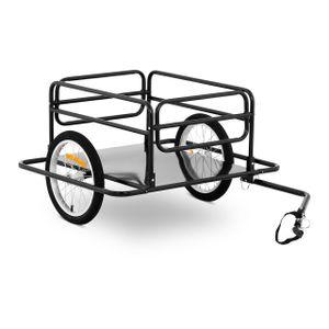 Uniprodo Fahrrad Lastenanhänger - 50 kg - Speichenreflektoren
