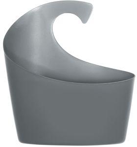 """Spirella Duschkorb """"Sydney"""" mit Haken zum einhängen, kombinierbares Duschregal 25 x 22,5 x 8,5 cm Grau"""