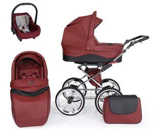 Kinderwagenset Elegance 3 in 1 - Sportwagen, Autositz und Zubehör