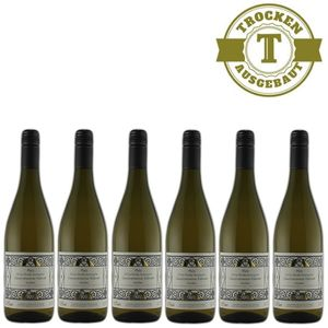 Weißwein Pfalz Gewürztraminer Weingut Krieger Rhodter Rosengarten lieblich (6 x 0.75l)