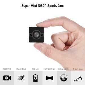 SQ12 1080 P HD Mini Sport DV Camcorder Action Kamera mit Nachtsicht / Bewegungserkennung / 155 ¡ã Weitwinkelobjektiv / 30 m Wasserdicht