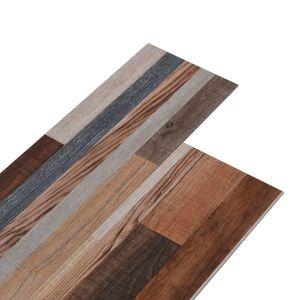 vidaXL PVC-Laminat-Dielen 5,02 m² 2 mm Selbstklebend Mehrfarbig