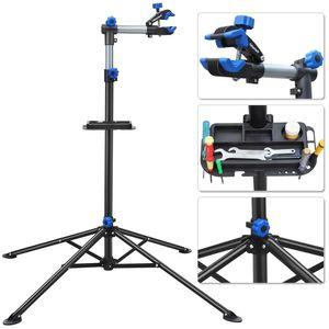 Yaheetech Montageständer Reparaturständer für Fahrrad Klappbar 108-190 cm Verstellbar Fahrradständer