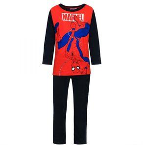 Spiderman Jungen Schlafanzug, schwarz, Gr. 98-128 Größe - 6 Jahre