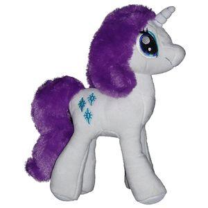 HASBRO My little Pony Rarity  Plüsch Einhorn Kuschel Stoff Schmuse Tier NEU