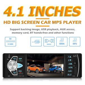 1DIN  HD Autoradio mit Bluetooth Freisprech USB SD Aux FM 7 Farben MP3 MP5 Player