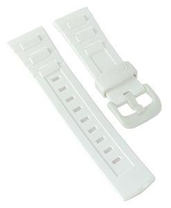 Casio Baby-G Ersatzband Uhrenarmband Resin weiß für BGD-120   BLX-100