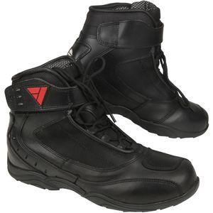 Modeka Le Mans Schuhe schwarz 38