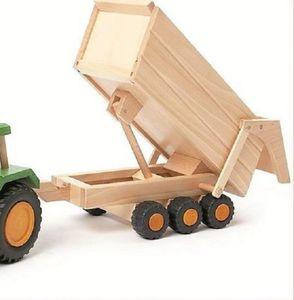 uniwood Anhänger für Traktor nachhaltiges Holzspielzeug 928 1210