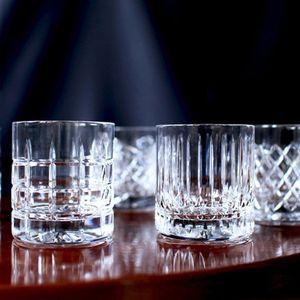 Whiskygläser / Kristallgläser / Whiskybecher / JFK Tumbler Low im 6er Set mundgeblasen und handgeschliffen