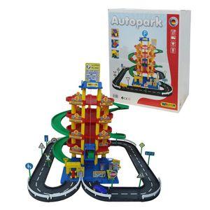 Polesie 5-stöckiges Parkhaus mit Straße und Autos, Spielzeug (Polesie38104)