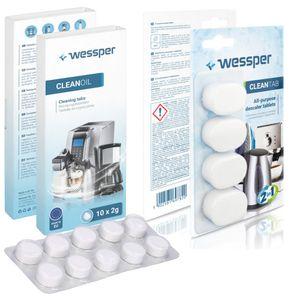 Set Entkalkungs- und Reinigungstabletten Entkalker + 10x Tabletten KRUPS JURA BOSCH SIEMENS
