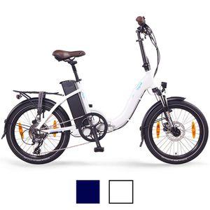 """NCM Paris+, 20"""", weiß, E-Faltrad E-Klapprad, Damen und Herren, 36V 19Ah 684Wh, Heckmotor"""
