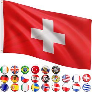 FLAGMASTER® Fahne Schweiz Flagge