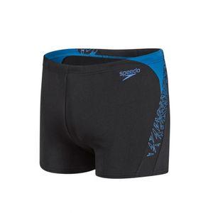 Speedo Boom Herren Badehose Aquashort, Farbe:Black, Größe:7