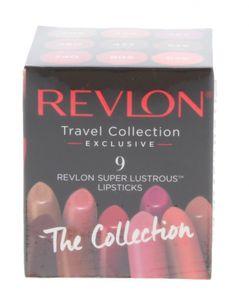 Revlon Super Lustrous Lip Cube Geschenkset 9 x 4.2g  Lippenstift