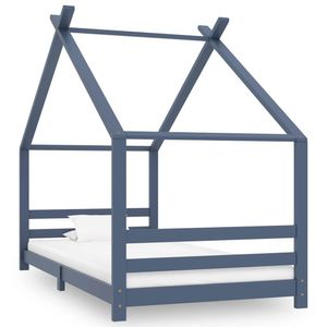 Kinderbett Hausbett Kinderhau mit Lattenrost Hausbett Holz 200x90cm Betten Hausbett Jugendbett