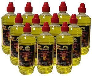 Brenngel 12x 1 Liter für Gelkamine Ethanolkamine Wandkamine Bodenkamine Bioethanol