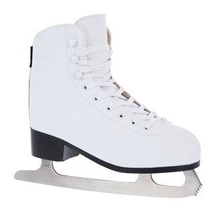 Damen Eiskunstlauf Schlittschuhe Nils Extreme NF8565S Weiß Innenfutter Gr. 41