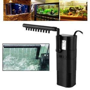 SPEED Aquarium Innenfilter 450L/h 6W Aquariumpumpe Filterpumpe Sauerstoffversorgung