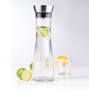 HI Wasserkaraffe mit Ausgießer Transparent 1 L
