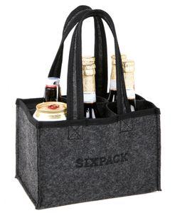 Herrenhandtasche SIXPACK - Flaschentasche für 6 Flaschen
