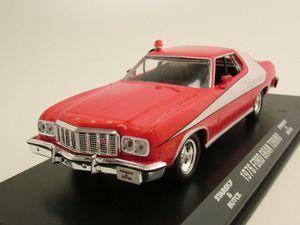 "Ford Gran Torino 1976 ""Starsky & Hutch"" rot/weiß Modellauto 1:43 Greenlight Collectibles"