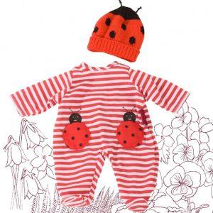 Götz Puppenmanufaktur Babykombi Ladybug 30cm