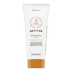 Kemon Actyva Disciplina Mask pflegende Haarmaske für raues und widerspenstiges Haar 200 ml