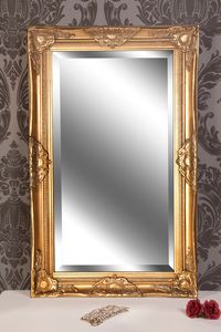 Wandspiegel antik gold Barock DANA 80 x 50 cm