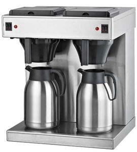 Doppelte Korbfilter Kaffeemaschine 2 x 2 Liter