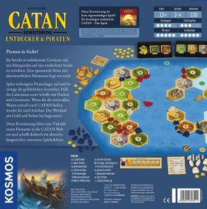 Kosmos 693411 CATAN - Erweiterung - Entdecker & Piraten NEU