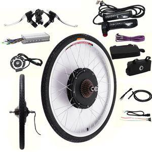 """48V 1000W 26"""" elektrisches Fahrrad-Umbausatz, Hanesemay Hinterrad-elektrischer Fahrrad-Bewegungsumwandlungs-Ausrüstungs-E-Fahrrad Radfahren-Nabe"""