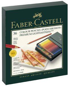 FABER-CASTELL Buntstifte POLYCHROMOS 36er Atelierbox